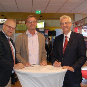 """Kooperationsvereinbarung """"Ausbildungsbetriebe stärken"""" unterzeichnet"""