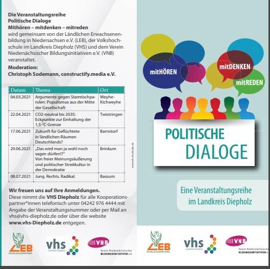 Politische Dialoge im Landkreis Diepholz